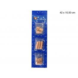 Tejas 3/m Decoración Navidad 42 X 10,50 Cm