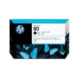 Hewlett Packard Cartuchos Inyeccion 80 Negro 350Ml  C4871A