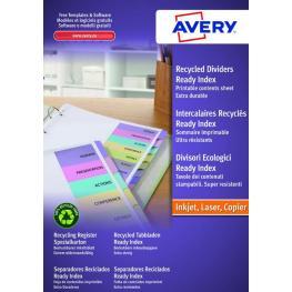 Avery Separadores 12 Posiciones A4 Multitaladro 01736501