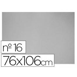 Liderpapel Carton Gris Nº 16 76X106 Cm Grosor 1,6 Mm.