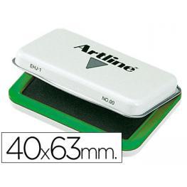Tampon Artline Nº 00 Verde -40X63 Mm