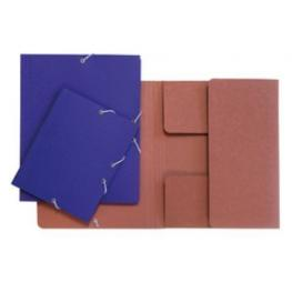 Carpeta Dibujo A3 Carton Con Goma Sin Solapas Azul Carchivo