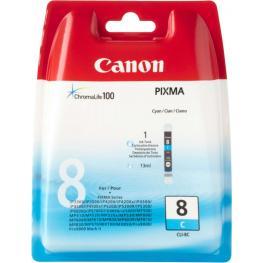 Canon Cartuchos Inyeccion Cli-8C Cyan Blister+Alarma 6273B002