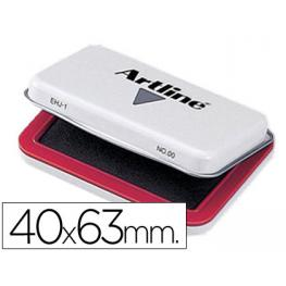 Tampon Artline Nº 00 Rojo -40X63 Mm