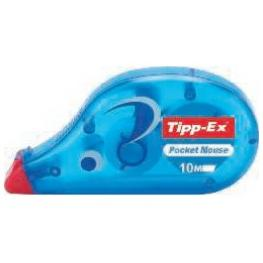 Tipp-Ex Cinta Correctora Pocket Mouse 4,2Mm X 10M Frontal  Con Tapa Protectora 820789