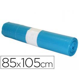 Bolsa Basura Industrial Azul 85X105Cm Galga 110 Rollo de 10 Unidades. 10020302