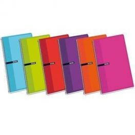 Cuaderno Enri Fº 80H 60Gr Pauta 3,5 Tapa Carton