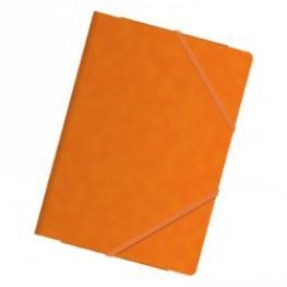 Dohe Carpeta de Gomas Premium Fº Con Solapas Naranja