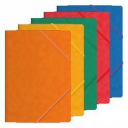 Dohe Carpeta de Gomas Premium Fº Con Solapas Colores Surtidos 10087