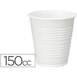 Paquete 100 Vasos Plastico Blanco 150Cc. Cafe Liderpapel
