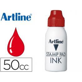 Tinta Tampon Artline Roja -Frasco de 50 Cc