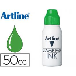 Tinta Tampon Artline Verde -Frasco de 50 Cc