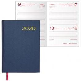 Agenda Dohe Mod. Sintex Basica 14X20 Cm. Dia / Pagina Azul 11401