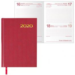 Agenda Dohe Mod. Sintex Basica 14X20 Cm. Dia / Pagina Burdeos 11402