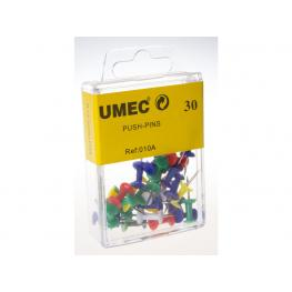 Umec Agujas de Señalizacion Caja 30 Ud Colores Surtidos U010A