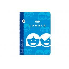 Lamela Cuaderno Cubierta Básica 80 Hojas Folio Cuadr. 3 Espiral 07F003
