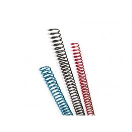 Gbc Espirales Caja 100 Ud Negro 6Mm Plástico 9665904