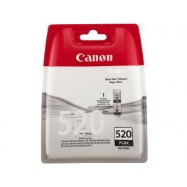 Canon Cartucho Inyeccion Pgi-520Bk Negro Blister + Alarma 2932B011