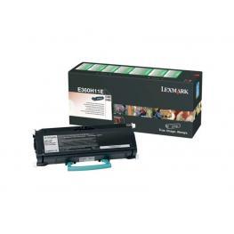 Lexmark Toner Laser  Negro  Retornable  E360H11E