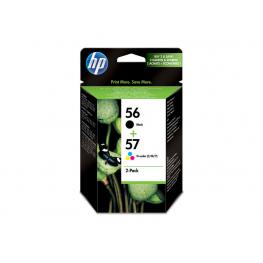 Hewlett Packard Cartuchos Inyeccion 56/57 Negro/tricolor Pack 2  Sa342Ae