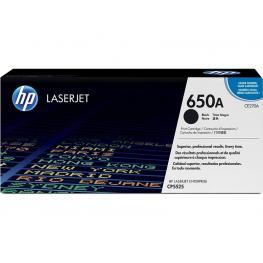 Hewlett Packard Toner Laser 650A Negro  Ce270A