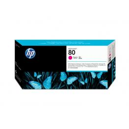 Hewlett Packard Cabezal de Impresion 80 Magenta  C4822A