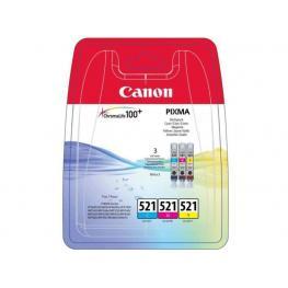 Canon Cartucho Inyección Cli-521 Cian/magenta/amarillo 2934B010