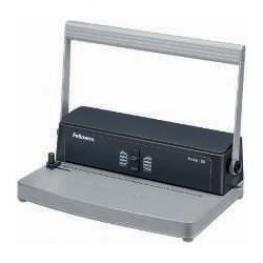Fellowes Encuadernadora Metal 50 Manual A4-385X250X130Mm Perforación 12 Hojas 3005001