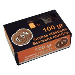 Snm Gomas Elasticas Caja 100Gr 8 Cm Caucho 320520