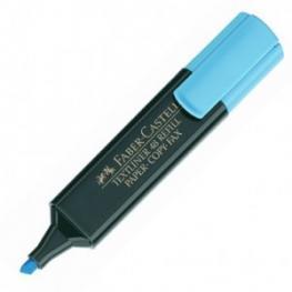 Faber Castell Marcador Fluorescente Textliner 48 Trazo 1, 2 y 5 Mm Punta Biselada Azul