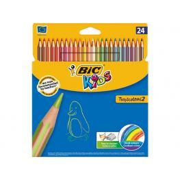 Bic Estuche Lapices 17,5 Cm Colores Surtidos 24U 832568