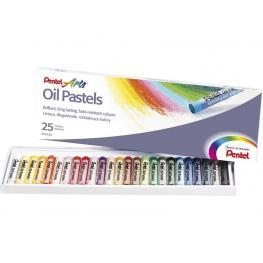 Pentel Pinturas Estuche 25 Ud Colores Surtidos Phn-25
