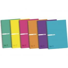 Enri Cuaderno 80H Folio Cuadricula 4X4 Surtido