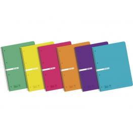 Enri Cuaderno 120H A4 Cuadricula 5X5 Surtido 400042282