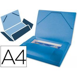 Carpeta Beautone Portadocumentos 36852 Polipropileno Din A4 Azul Serie Frosty Lomo 25 Mm