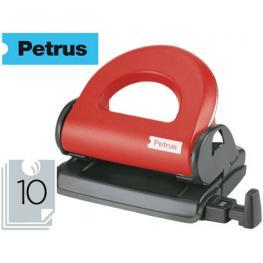Taladrador Petrus 80 Color -Rojo -Capacidad 10 Hojas