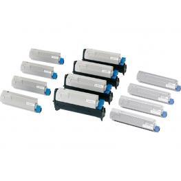 Oki Toner Laser  Cyan  42804547