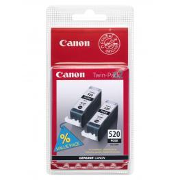 Canon Cartuchos Inyeccion 520 Negro Pack 2  C13T26314020