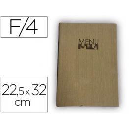 Porta Menus Liderpapel Pu 22,5 X 32 Cm Con 4 Fundas