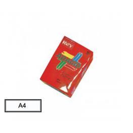 Paq. 500 H Papel A-4 80Grs Adagio Rojo Intenso
