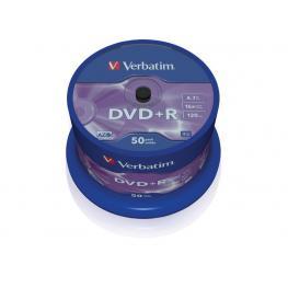 Verbatim Dvd+R Advanced Azo Bobina 50 16X 4.7Gb 43550