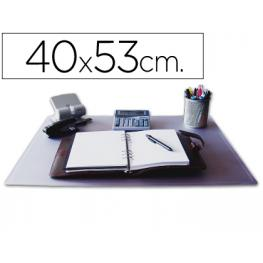 Vade Sobremesa Q-Connect Transparente -40X53 Cm