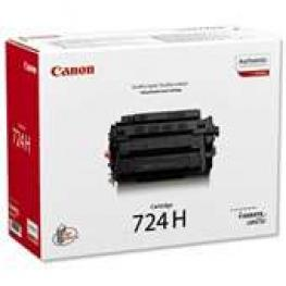 Canon Toner Laser Crg-724H Negro  3482B002