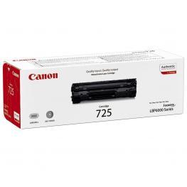 Canon Toner Laser 725 Negro  3484B002