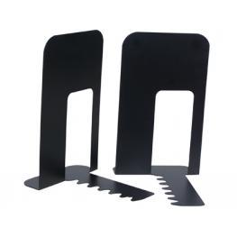 Apoyalibros Metalico Q-Connect Kf00837 Negro -Juego -140X178X191