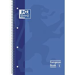 Oxford Cuaderno School 80H A4 Cuadricula 5X5 Azul 100430197
