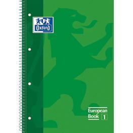 Oxford Cuaderno School 80H A4 Cuadricula 5X5 Verd 20567