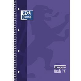 Oxford Cuaderno School 80H A4 Cuadricula 5X5 Lila 100430201
