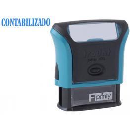 Sello Entintado Printy 4911 F8 P3 Contabilizado Almohadilla Azul