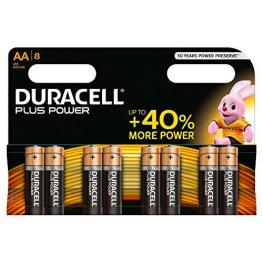 Duracell Pilas Alcalinas  Plus Power Pack 8 Ud Aa Lr06 394017764